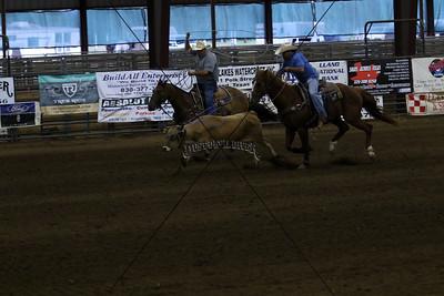 Llano County Team Roping Second Go