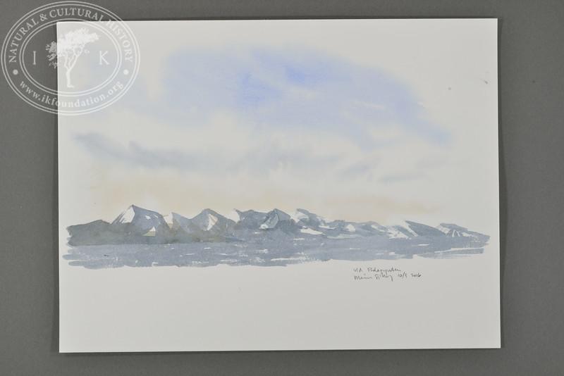 View from Polepynten, Svalbard | 10.9.2016. | Måns Sjöberg.