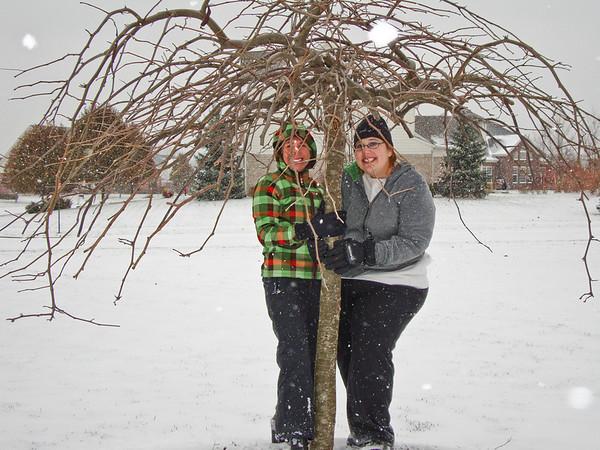 Jen and Wendi's Winter Visit - 2008