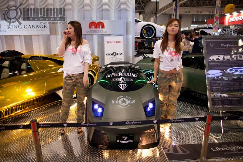 Mayday Garage, Japan, 2012