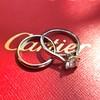 0.78ct Round Brilliant Diamond Bridal Set by Cartier 21
