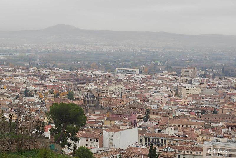 Malaga city and country