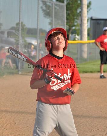 20110706 Sleepy Eye vs Stark Midgets Baseball