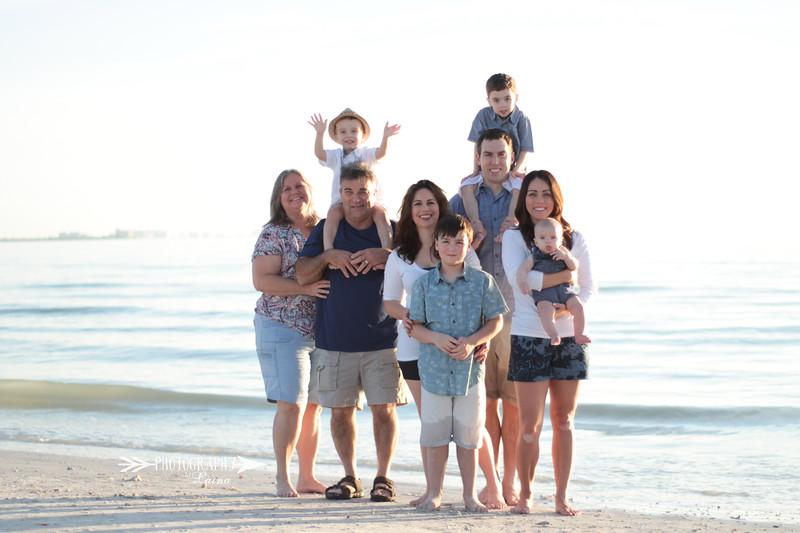 Family-Photo-Session-Honeymoon-Island-Beach-Florida-Red-Dress-Santa-Hats-Christmas-Session-Central-Florida-Tampa-Bay-Family-Photographer-Photography-By-Laina-7.jpg