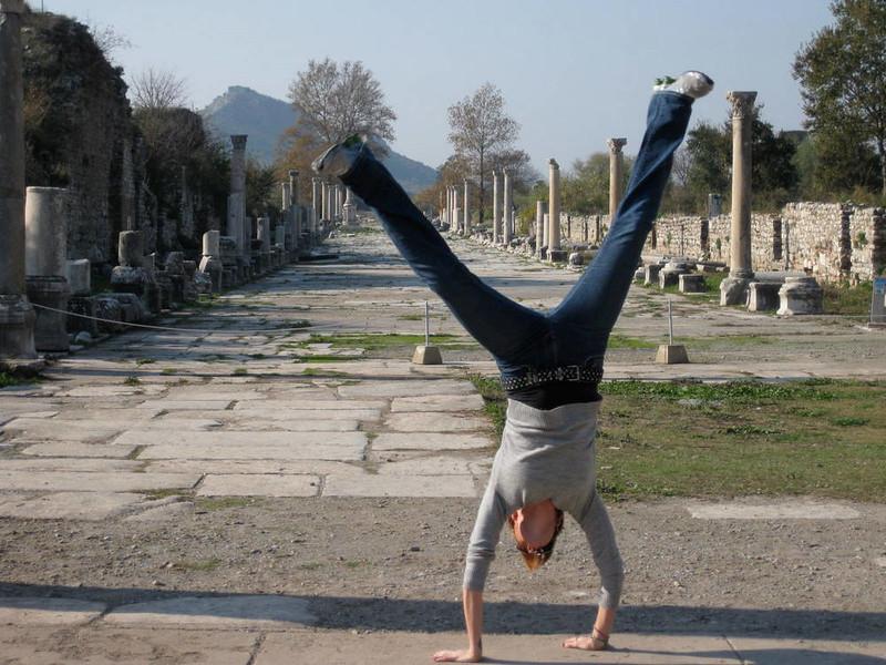 Kristin Weiss - Ephesus, Ismir, Turkey