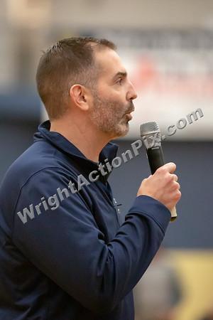 2018 12 14 Clarkston Varsity Basketball vs Wayne Memorial and Dan Fife Fieldhouse Dedication