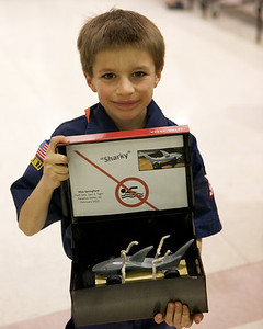 Pack 545 - Pinewood Derby 2012