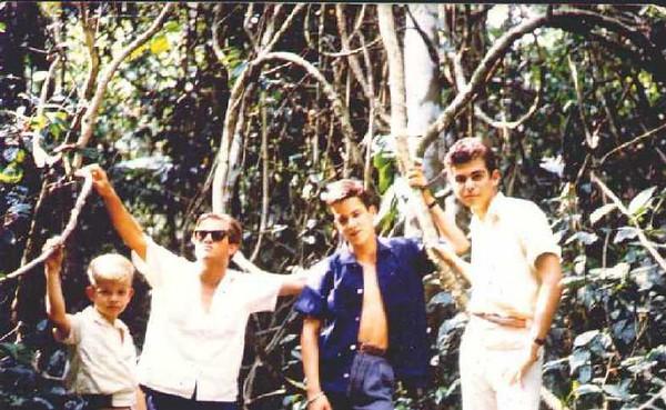 Zé Russo Soares, Guilherme Soares, Jorge Santos e Nelo Videira