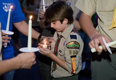 dan-thompson-right-and-tony-little-13-both-of-troop-620-participate-in-a-candlelight-vigil-sunday-august-6-2017-in-hallsville-for-two-fellow-scouts-killed-and-one-severly-injured-in-a-satuda