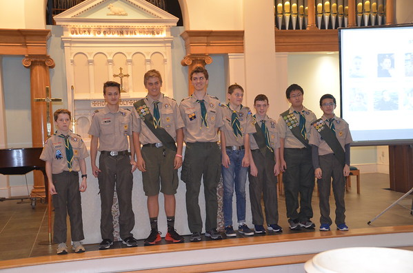Troop 98 2019 Fall Court of Honor