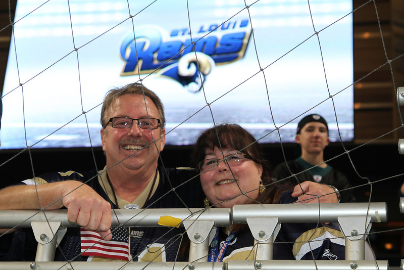 Rams vs Eagles 2011