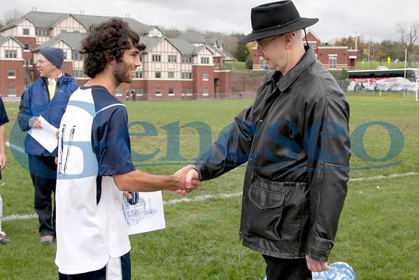 Men's Soccer - Honoring Faculty 2011