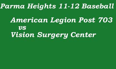 170628 Parma Heights Boy's 11-12 Baseball Powers Field