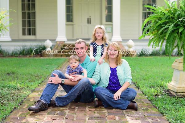 The Phillips family  |  Eden Gardens State Park
