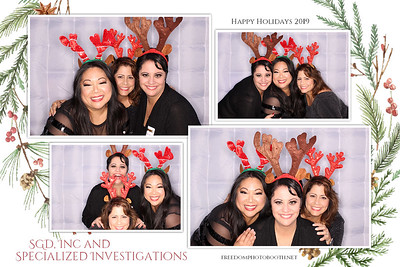 SGD, Inc & Specialized Investigations Holiday Party 12.7.19