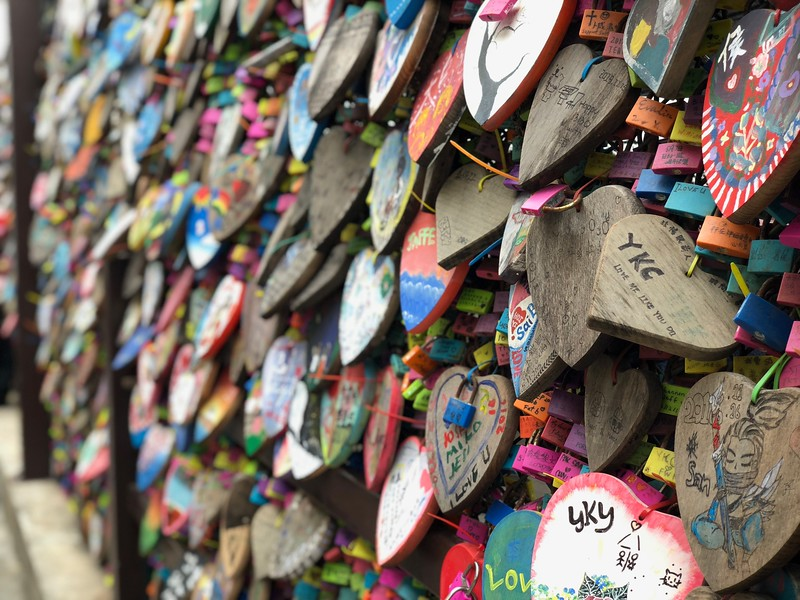 Lock of Love Cheung Chau Photo