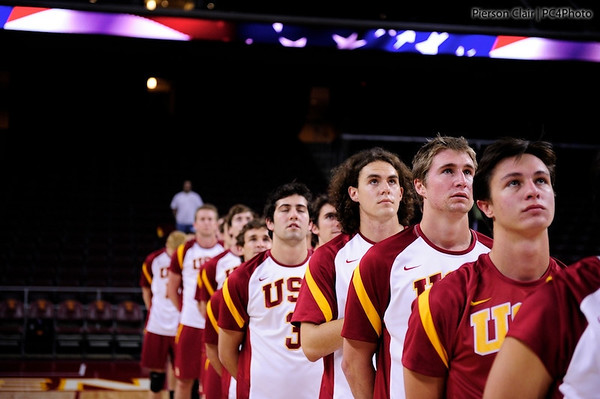 USC Men's Volleyball v Pacific 2011