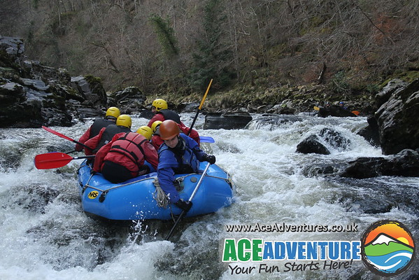 5th April 2013 - Birthday & Stag Rafting