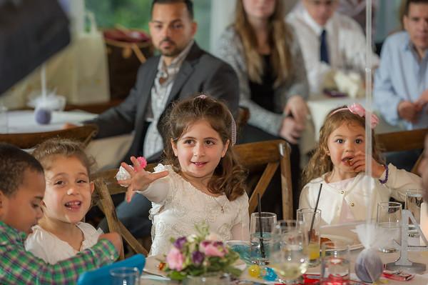 Isabella's First Communion Reception