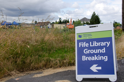Fife Library Ground Breaking