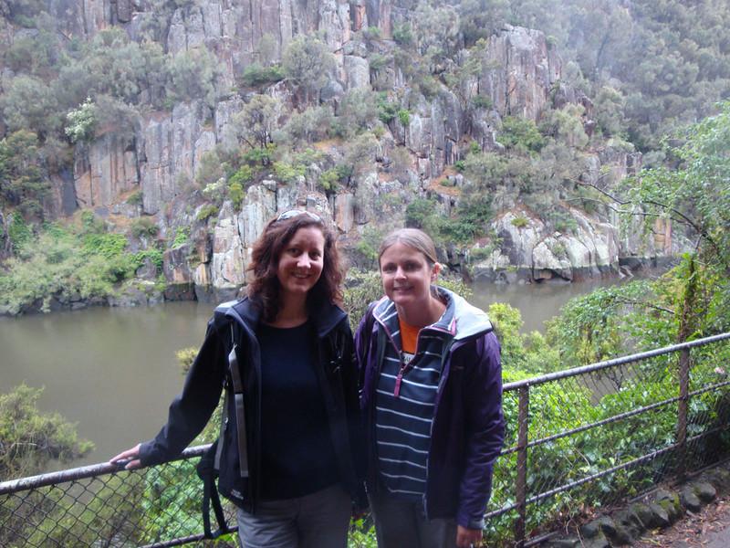 Rachel flew in from Sydney to explore Launceston with us.