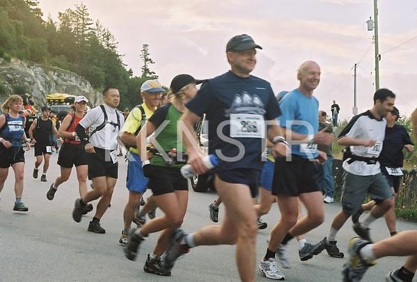 2005 Race Start at Horseshoe Bay (Eagleridge Drive)