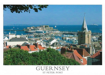 Guernsey Postcards With Ships