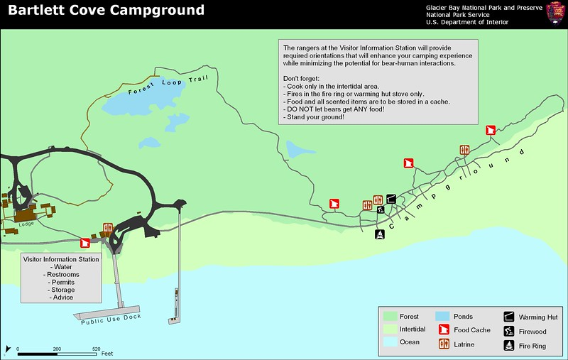 Glacier National Park (Bartlett Cove Campground)
