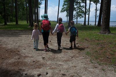 Backpacking Pine Cliff