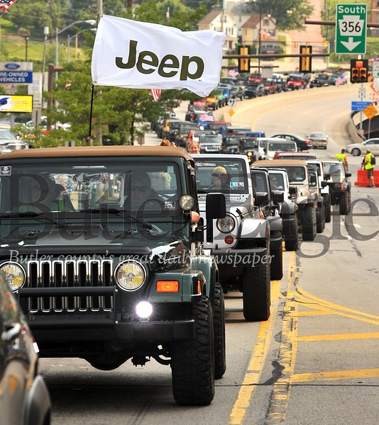 25742 BUTLER MAIN STREET JEEP INVASION HISTORY GUINESS RECORD