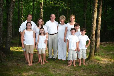 Allen Family (August 2010)