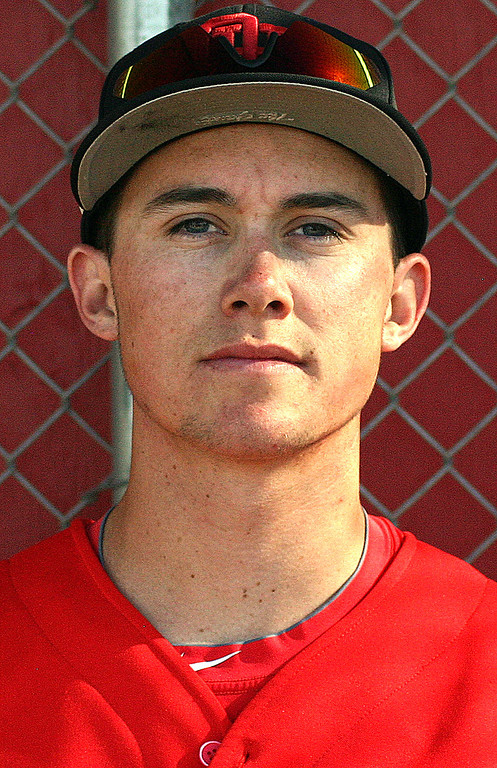 . Logan Griffin has been named to The Sun\'s All Area baseball team. Griffin plays for Oak Hills High School. Courtesy photo to The Sun.