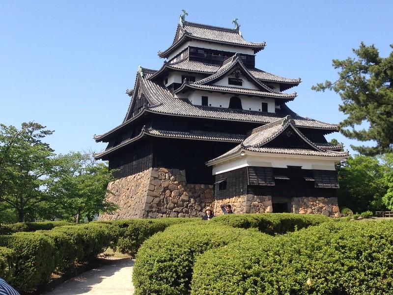 Matsue Castle - Leslie Rowley S95