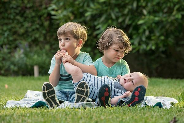 Mateo, Lucas & Jacob