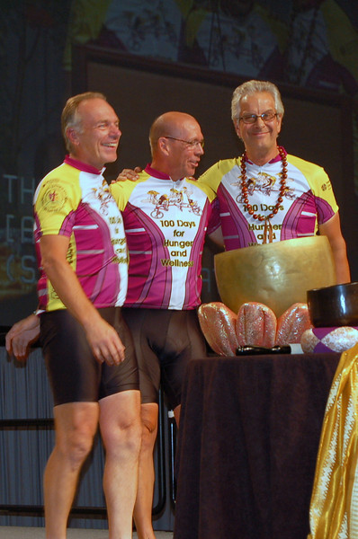 Tour de Revs riders (left to right) Pr. Schlack, Pr. Soltow, Pr. Twedt