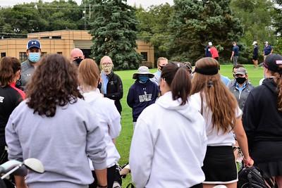 OE Girls Golf Vs Glenbard East 2020