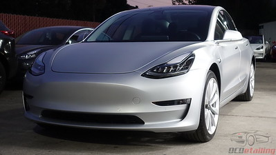Tesla Model 3 - Stealth Metallic Silver