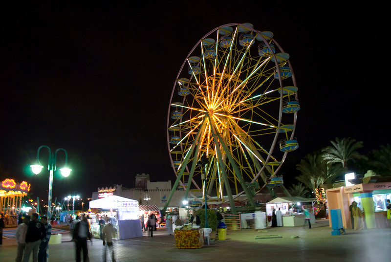 Ferris wheel in Muscat, Oman