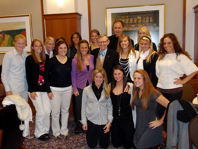 2009 PFW Brian Billick Reception with the Varsity Field Hockey Team