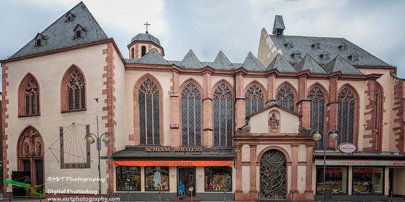 Liebfrauenkirche Frankfurt Germany - 1 Jun 2008