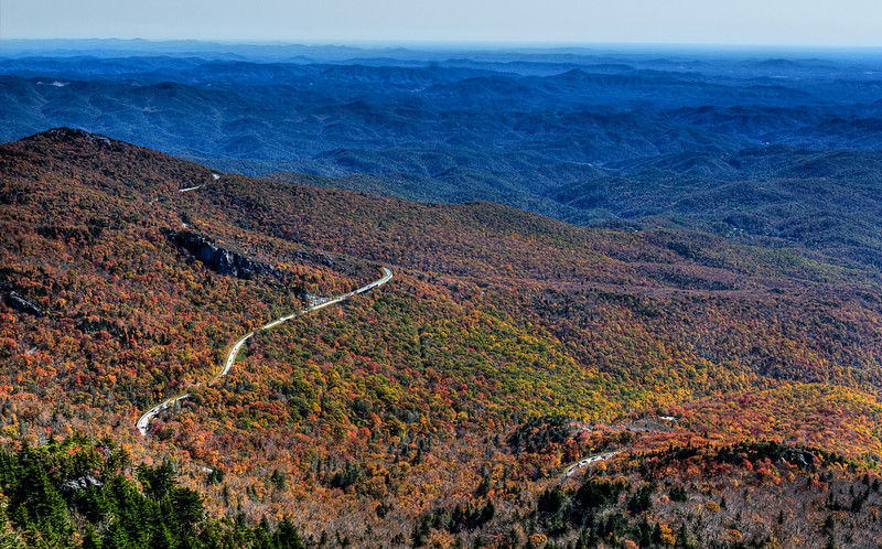 The Origins of Blue in Blue Ridge Parkway