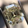 4.71ct Antique Asscher Cut Diamond GIA WX VS2 35