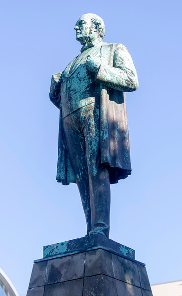 Statue of Jon Sugurdsson who fought for Icelandic independence