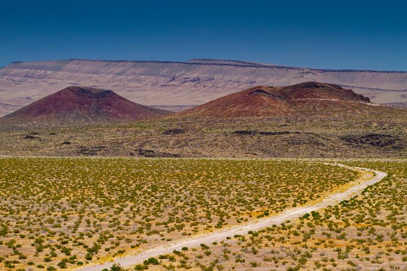 Crater Flat, Lathrop Wells Nevada