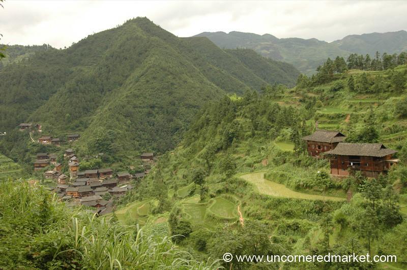 Hilly Guizhou Countryside - Guizhou Province, China
