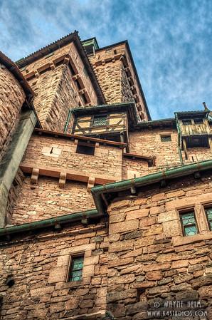 Haut-Koenigsbourg Castle - Photography by Wayne AHeim
