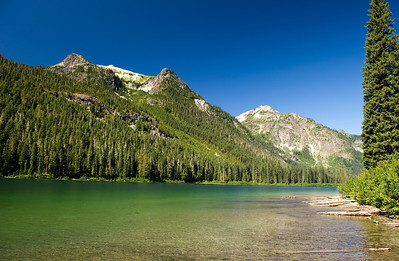 Tuck Lake, Salmon Le Sac, Cle Elum Valley Rd  (FR 4330)