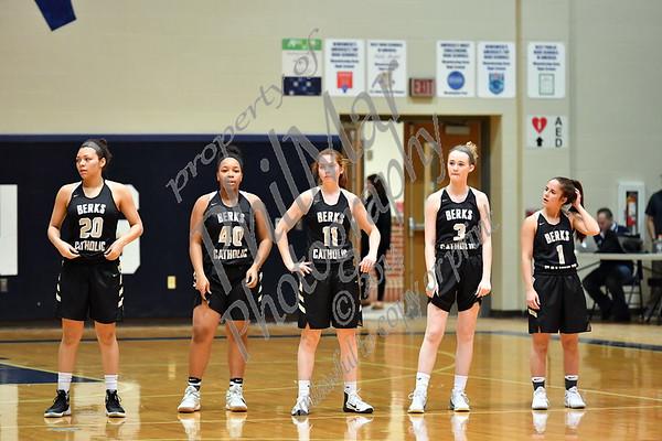 Berks Catholic vs Wyomissing Girls Varsity Basketball 2016 - 2017