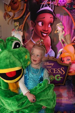 Prinses en de Kikker première