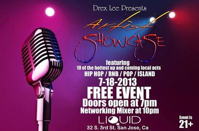 Drex Lee Artist Showcase 7.18.2013